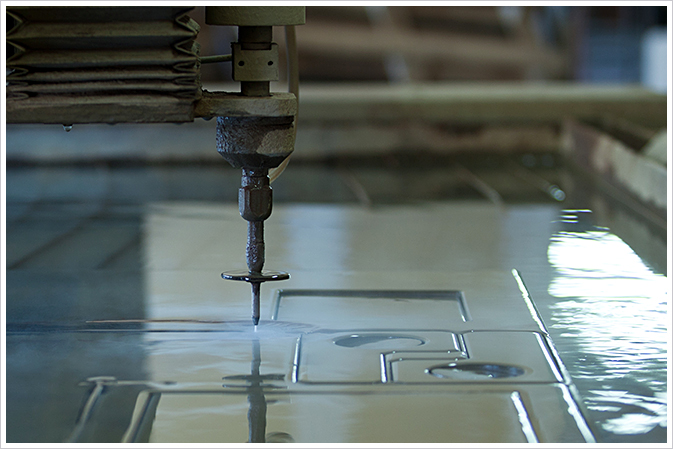 Waterjet for Precision Cutting